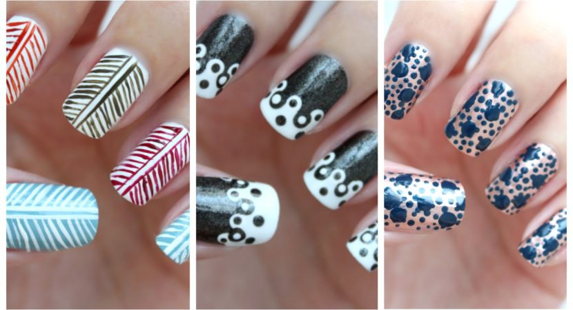 Easy Nail Art For Beginners 25 Jennyclairefox Video Beauty Help