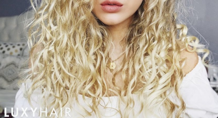 How To Blend Hair Extensions With Curly Hair Video Beauty Help